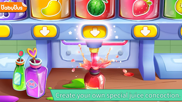 Baby Panda's Juice Shop Android App Screenshot