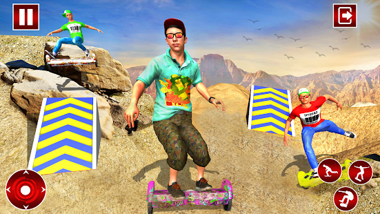 Off Road Hoverboard Stunts for PC-Windows 7,8,10 and Mac apk screenshot 2