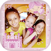 Princess photo frames for kids