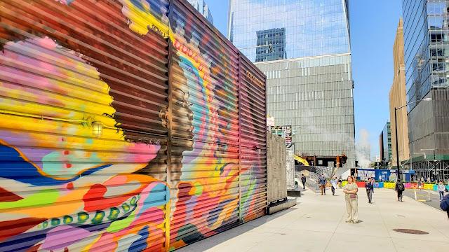 WTC street art: Summer Solstice by Ben Angotti