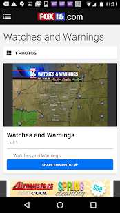 KLRT - FOX16- screenshot thumbnail