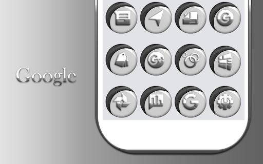 Download Grayish White Icons Pack MOD APK 9