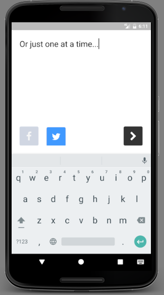 Type.- screenshot
