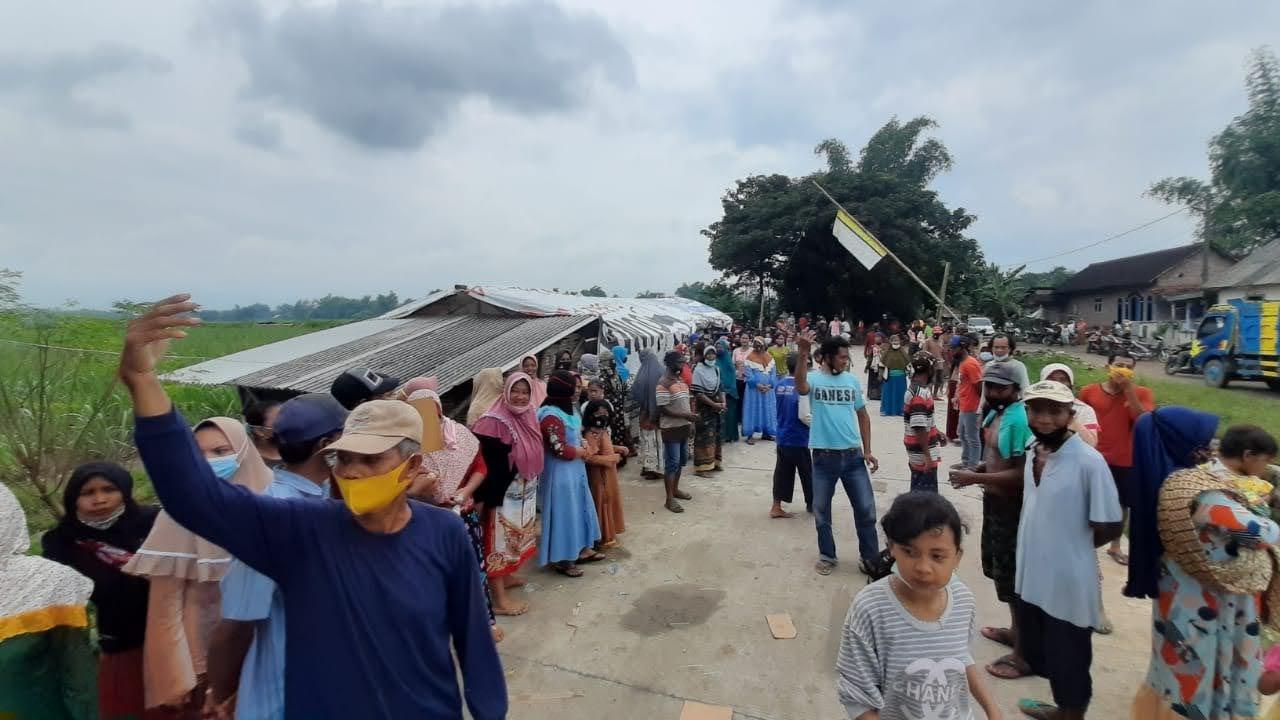 Warga Desa Karangdiyeng Menolak Adanya TPA Edukasi ,Yang Baru Diresmikan