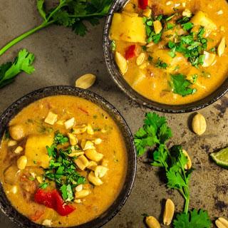 West African Peanut Stew [Vegan, Gluten-Free].