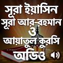 সূরা ইয়াসিন-রহমান-আয়াতুল কুরসি icon