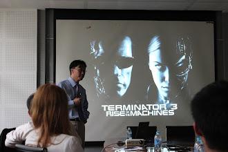 Photo: Talking about Next Generation Robotics at Tsinghua University