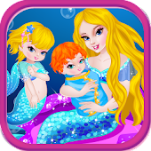 Mermaid Birth Baby Games