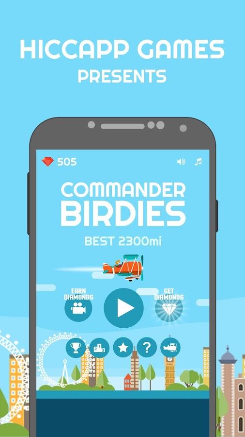 Commander-Birdies 25