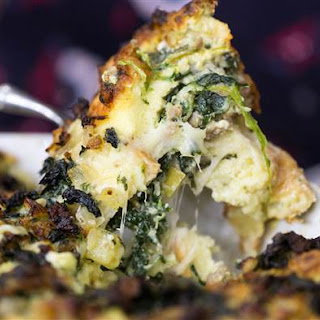 Sausage, Spinach, and Apple Strata