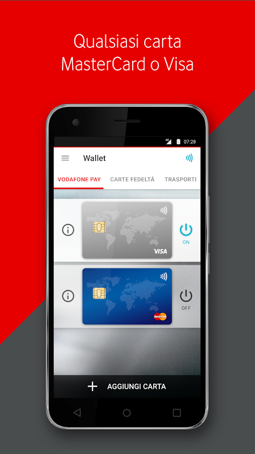 Vodafone Wallet- screenshot