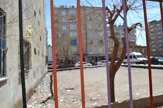 Photo: Next to the Kurdî Der office in Amed/Diyarbakir