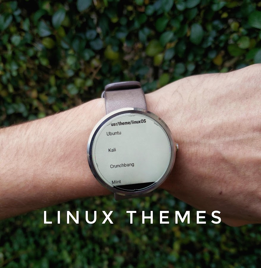 Watch face linux terminal android apps on google play for Linux watch