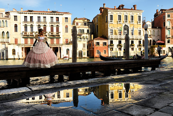 Venezia in una pozzanghera di Clara