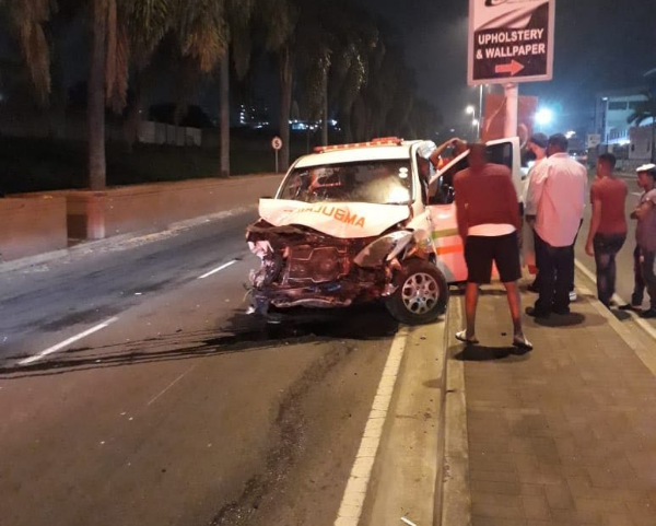 One person died after an ambulance crashed into a car in Durban on September 2, 2018.