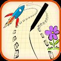 Scribble Racer - S Pen icon