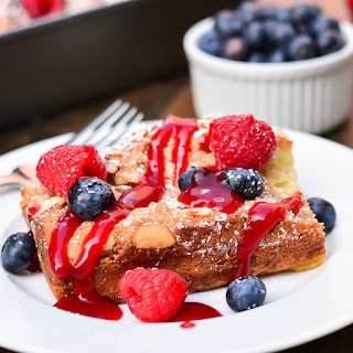 Overnight Coconut-Almond French Toast Casserole
