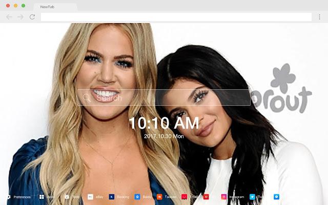 kardashians HD New Tabs Popular Stars Themes