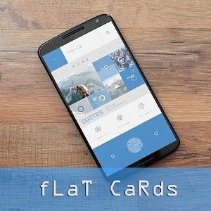fLaT CaRds for KLWP download