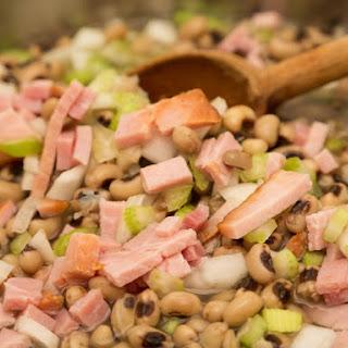 Slow Cooker Black Eyed Peas.