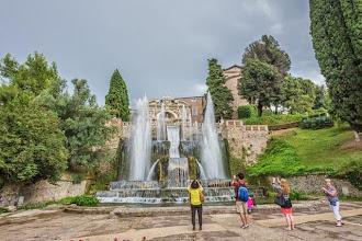 Photo: The Fountain of Neptune (Fontana di Nettuno) in Villa d'Este in Tivoli, Lazio, Italy