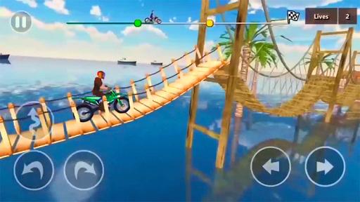 Crazy Biker Extreme Challenge Sky Stunt 3D 1.0 screenshots 1
