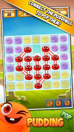Pudding Pop - Connect & Splash Free Match 3 Game screenshot 11