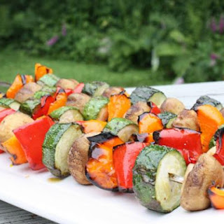 Quick and Easy Veggie Kebabs