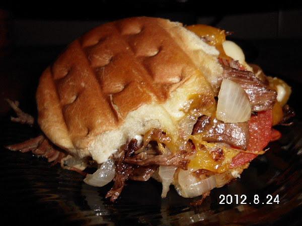 Roast Beef Panni Slider Recipe