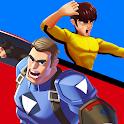 Superhero Captain X vs Kungfu Lee icon