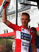 Photo: Michael Mørkøv, dansk mester fra Team Saxo-Tinkoff
