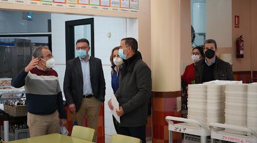 Educación destina 150.000 euros a mejorar el CEIP San Tesifón de Berja