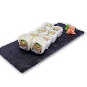 89. Cooked Tuna & Cucumber Sushi Roll
