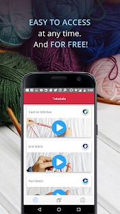 Knitting Genius - Free Patterns & Row Counter- screenshot thumbnail