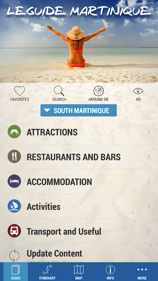 The guide Martinique- screenshot