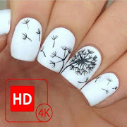 Girls Nail Art Photo