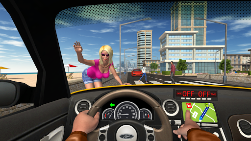 Taxi Game Free - Top Simulator Games 1.3.2 screenshots 2