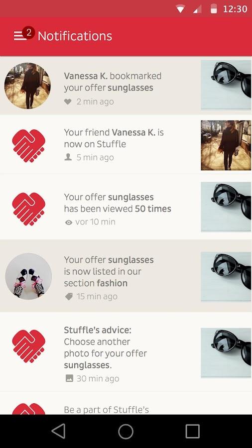 STUFFLE the mobile flea market- screenshot