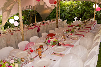 Photo: A wedding we hosted on the Pat Busch Private Nature Reserve for 80 guests.