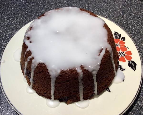 Cranberry Swirl Cake