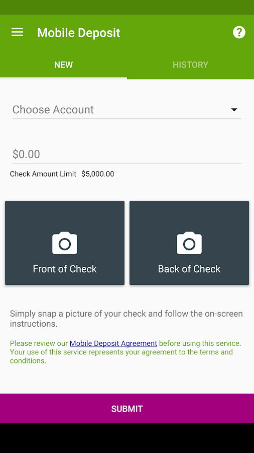 Summit Credit Union Mobile- screenshot