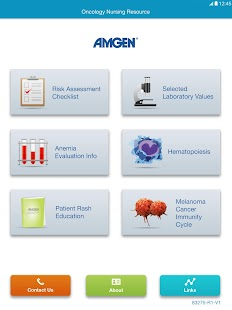 Amgen Oncology Nursing Tool- screenshot thumbnail