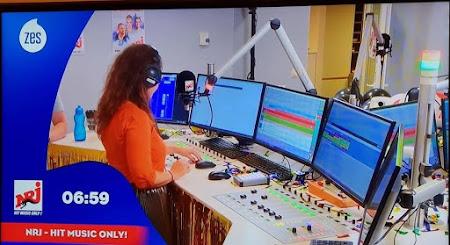 2 nieuwe studio's voor radio NRJ