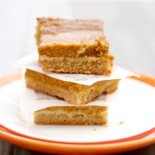 """Paleo-fied"" Pumpkin Pie Bars"