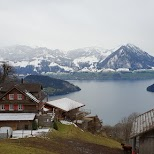 Mount Rigi in Switzerland in Lucerne, Lucerne, Switzerland