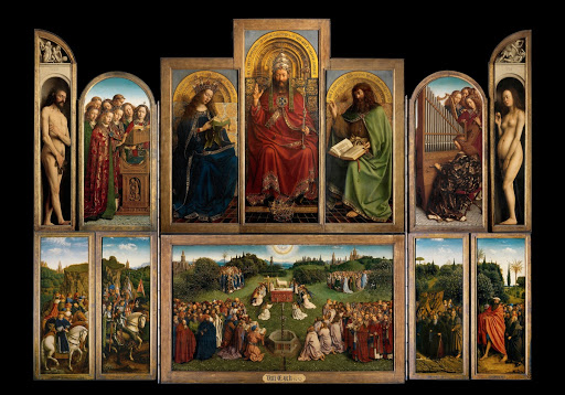 Inside the Ghent Altarpiece - Google Arts & Culture