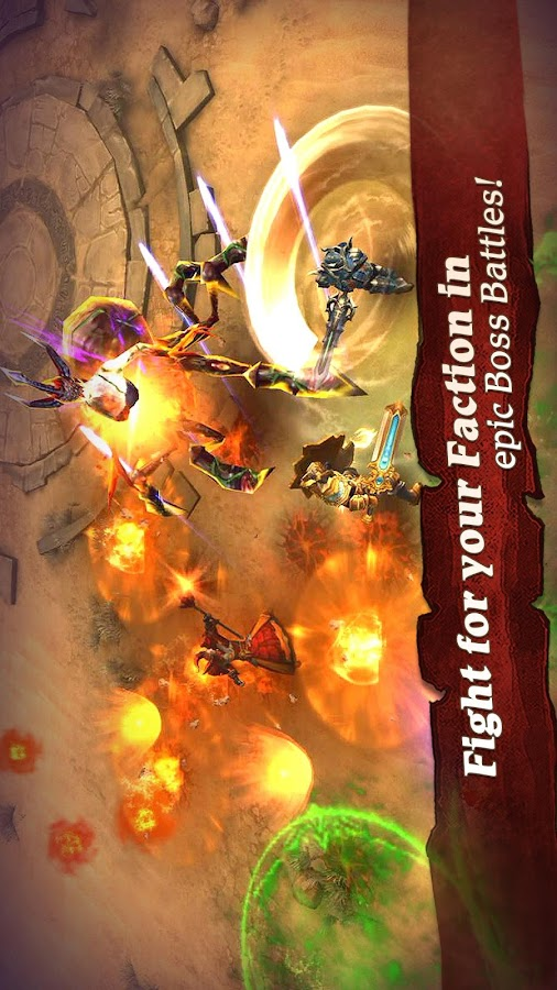 Clash for Dawn: Guild War- screenshot
