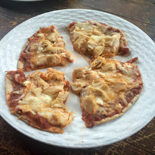 Easy Healthy Chicken Pizza