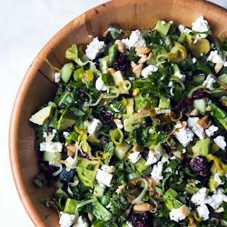 Lentil, Feta, and Avocado Salad with Lemon-Dijon Vinaigrette Recipe