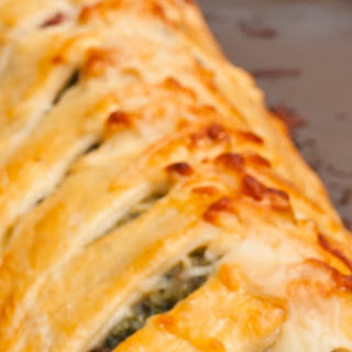 Tuscan Artichoke and Spinach Strudel